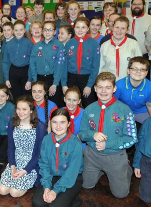 Swindon Advertiser: Gangs all here for Scout and Guide Movement show at Swindon's Wyvern Theatre