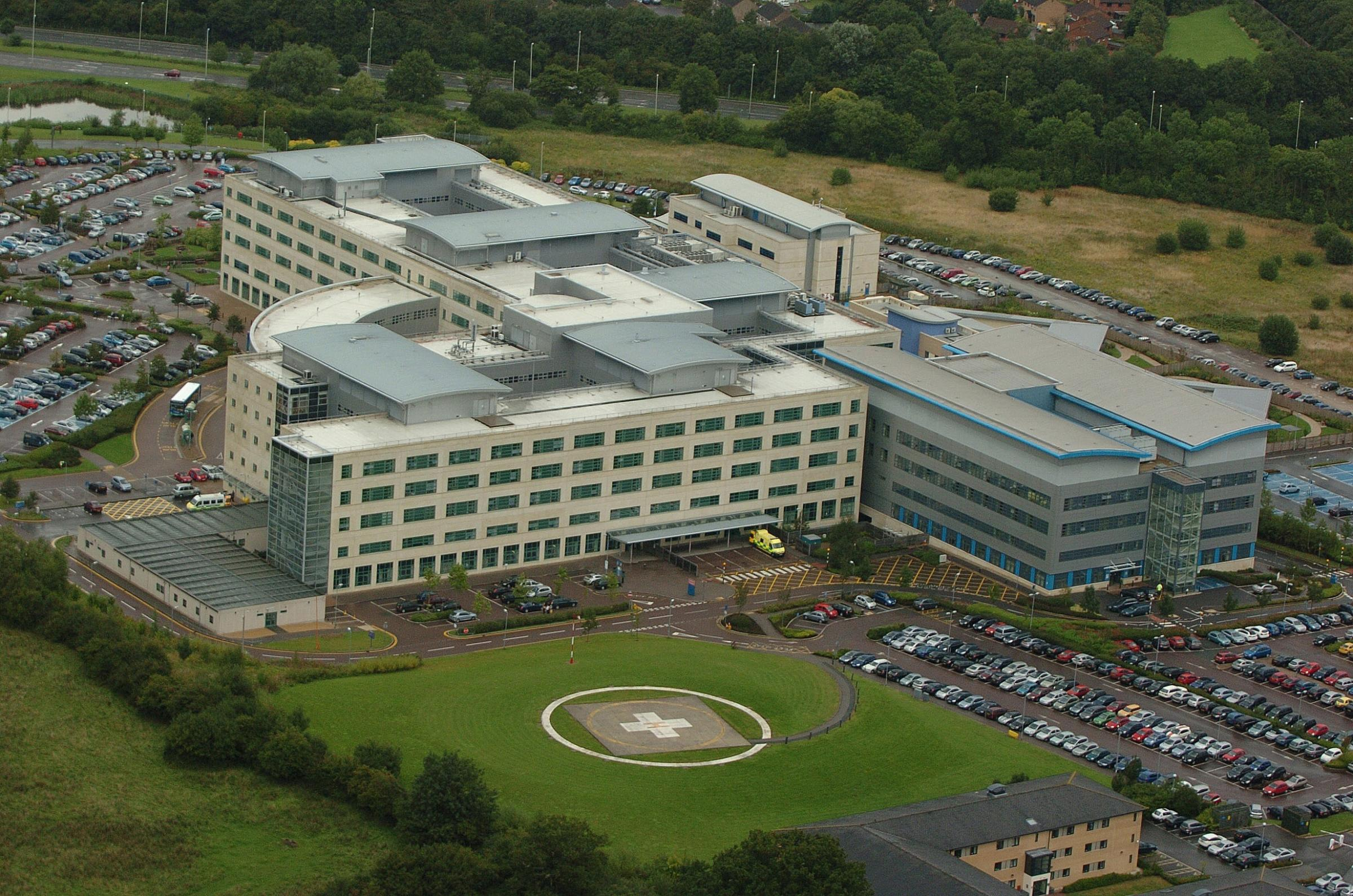 Swindon's Great Western Hospital is struggling to keep to its budget    Pics Dave Evans
