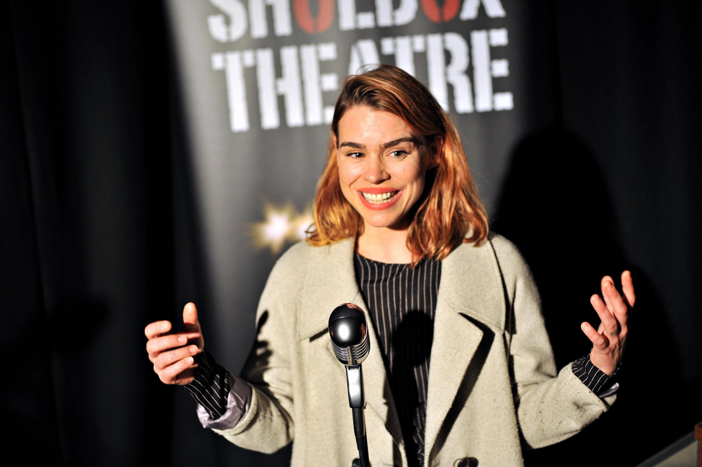 Billie Piper talked about the importance of supporting theatre in Swindon.