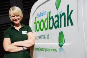 Cher Smith, project manager at Swindon Foodbank. Picture by Thomas Kelsey