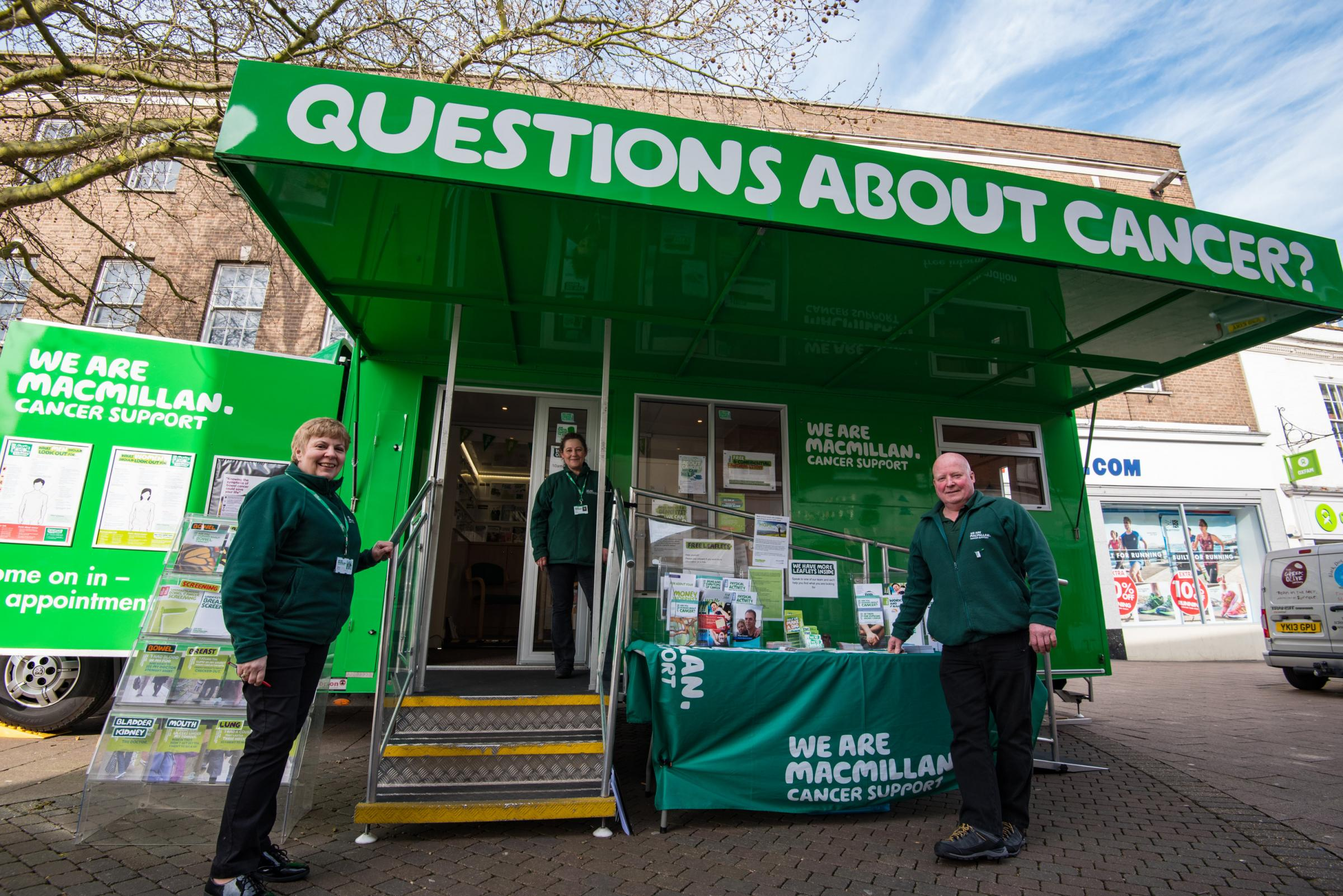 Macmillan Cancer Support Information Service in Swindon
