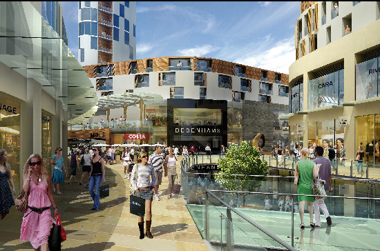 An artist's impression of Regent Place