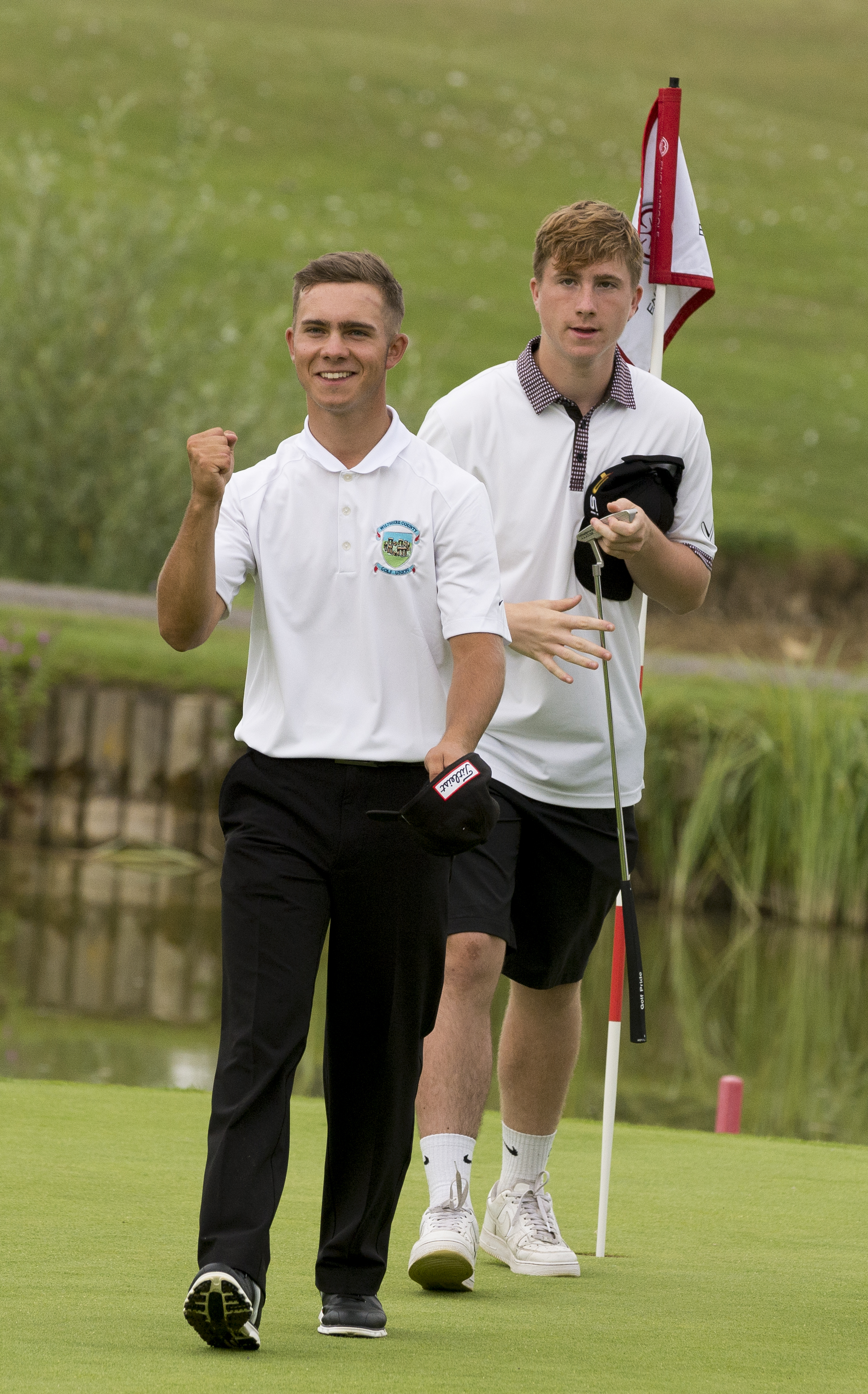 Jake Bolton (left) was Wiltshire's top performer