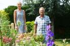 Kevin and Sheridan Fisher are ready for West Swindon Open Gardens this weekend Thomas Kelsey