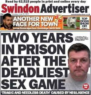 Swindon Advertiser: How are a night of extreme bondage went wrong. Click here for more