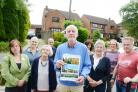 Wroughton parish councillors and residents call on Secretary of State to reverse decision about Marlborough Road homes plan. Pictured Councillors and residents..24/07/17 Thomas Kelsey.
