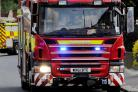 Two floors of a house in Upper Stratton were gutted by a blaze