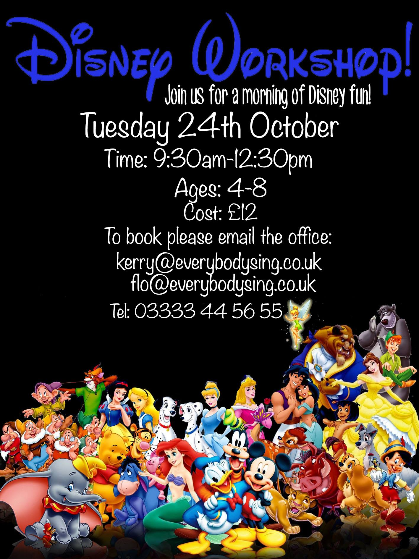EVERYBODY SING - DISNEY WORKSHOP