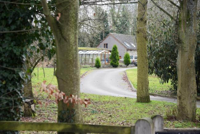 Brook Cottage - site of a controversial four house planning application.  Picture: Thomas Kelsey