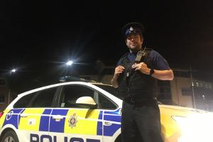 Adver reporter spends a night on shift with Swindon police officers