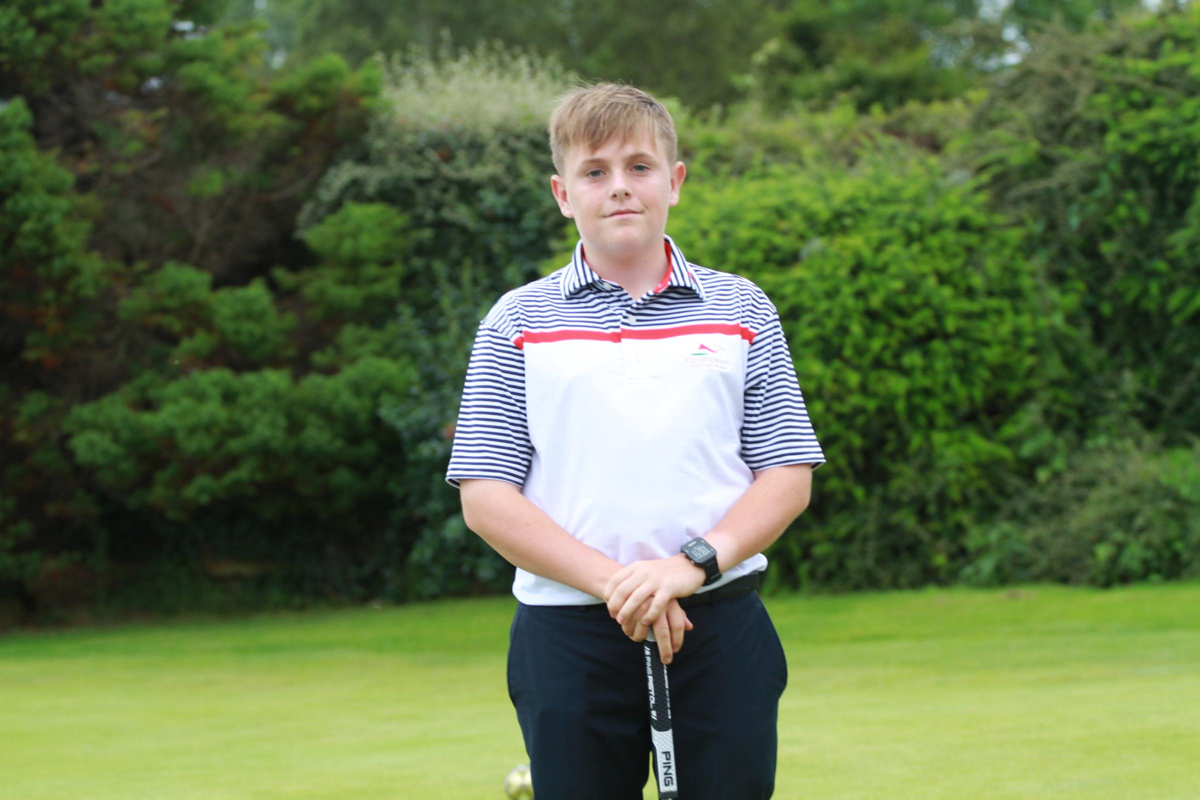 Freddie Titcombe has been selected to represent the South West of England