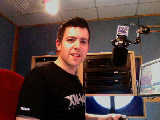 Ian Timms is one of the five weekend presenters axed by Brunel FM