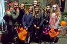 Amanda Fiander sent us this great picture of her daughter and friends ready to go trick or treating in Royal Wootton Bassett