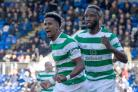 Scott Sinclair opened the scoring for Celtic (Jeff Holmes/PA)