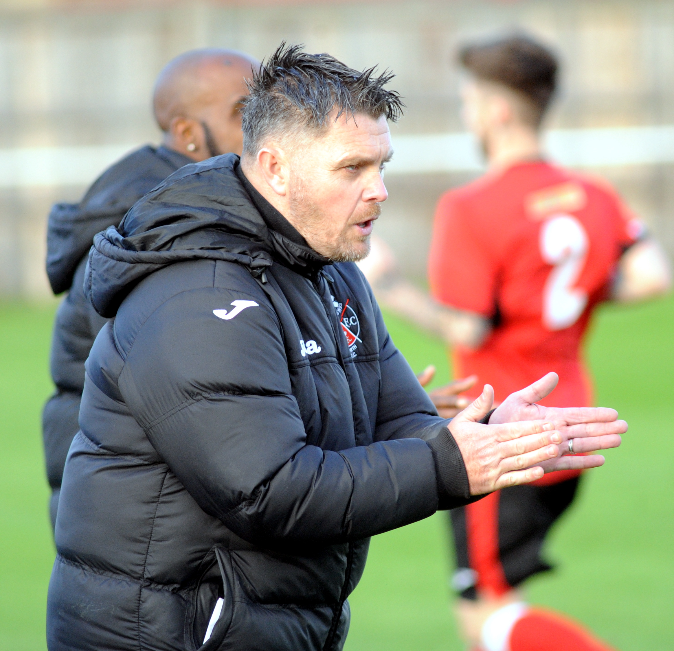 Highworth Town boss Jeff Roberts