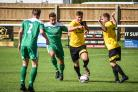 Will Stead (Centre) was the scorer