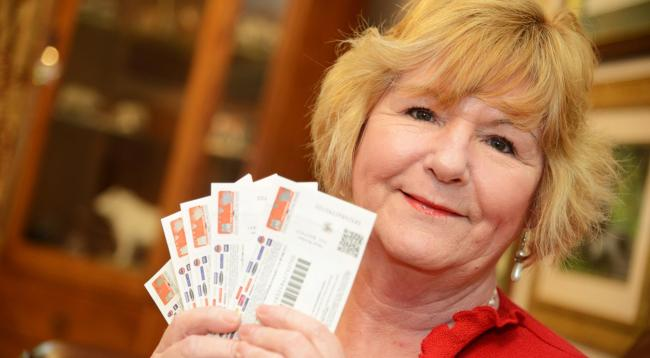 Angela Annells has won £500 Love 2 Shop vouchers in a Swindon Advertiser competition. Picture by Thomas Kelsey