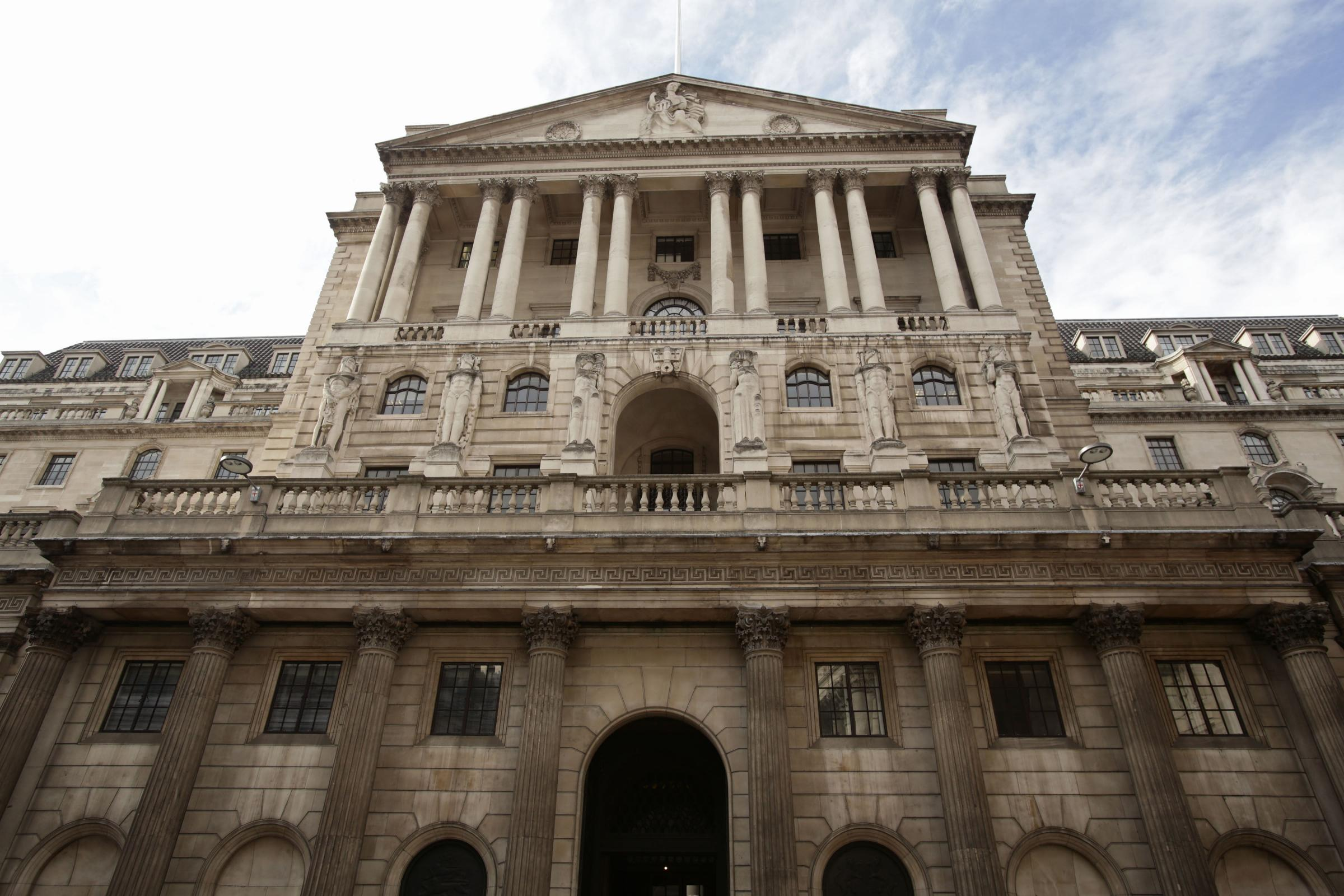 File photo dated 11/08/14 of a view of the Bank of England, in the City of London, as the Bank has defended its efforts to boost diversity despite unveiling a gender pay gap of 21%. PRESS ASSOCIATION Photo. Issue date: Thursday November 23, 2017. See PA s