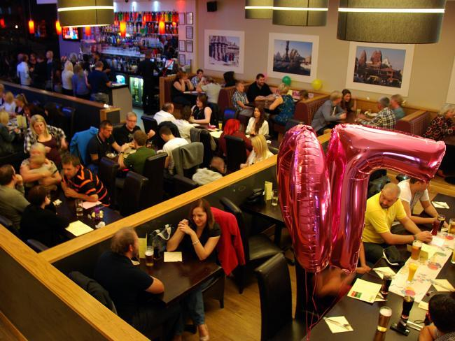 Tiffins in Cwmbran has been a hit with local diners.