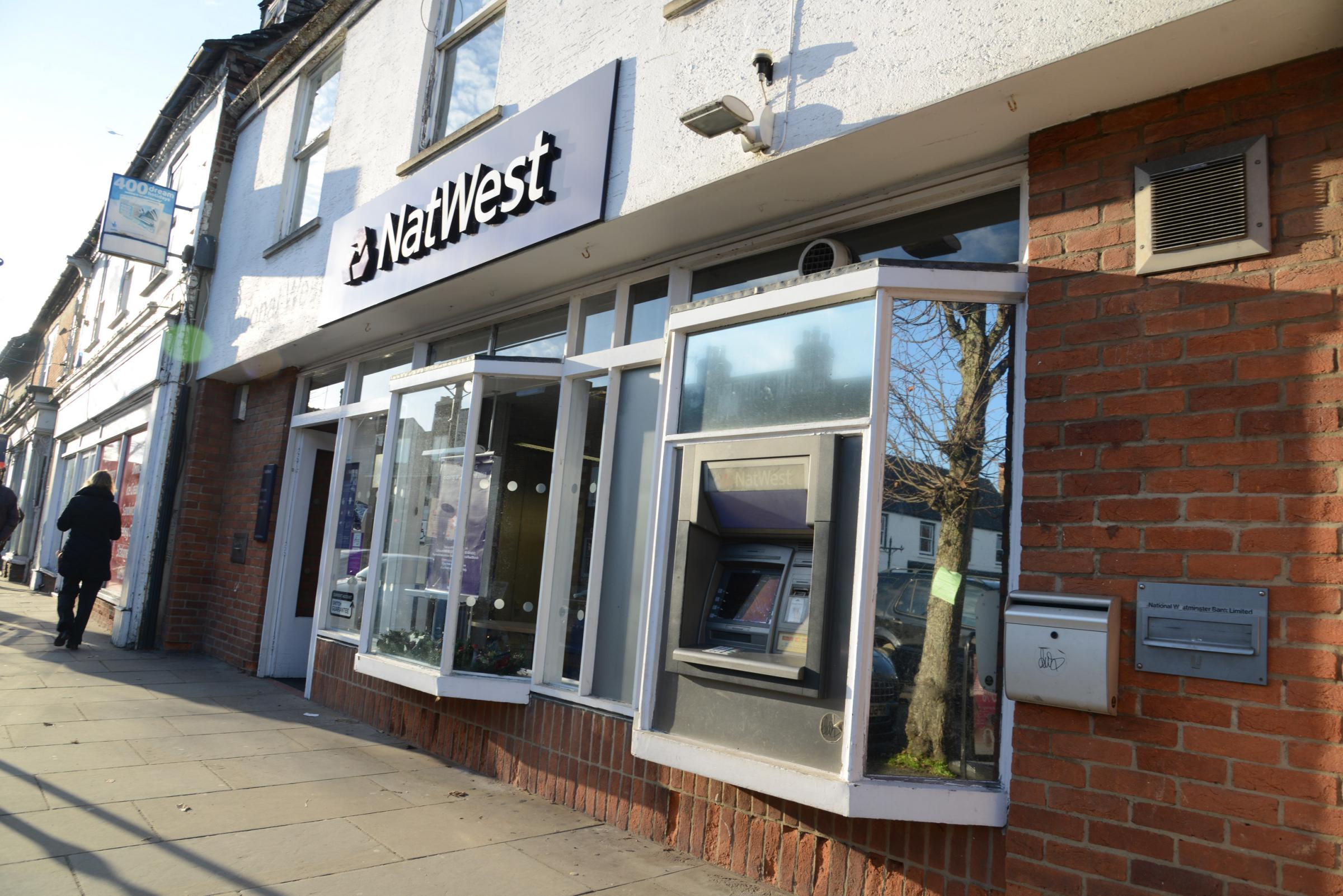 Natwest, Royal Wootton Basett. Picture: THOMAS KELSEY