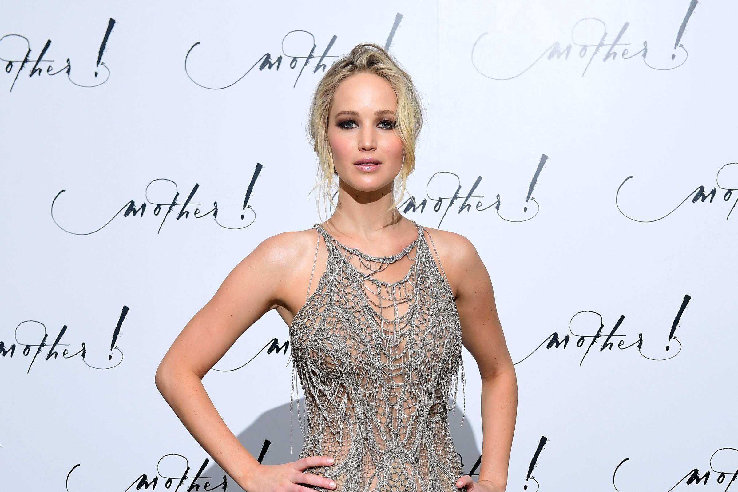Jennifer Lawrence was 'afraid' to be sexy on-screen after a nude photo hack (Ian West/PA)