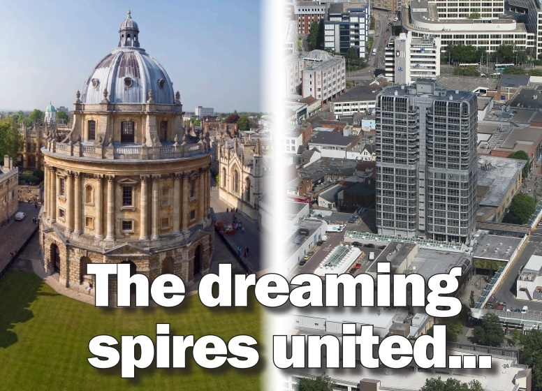 A match made in Heaven: Oxford keen to be linked with Swindon
