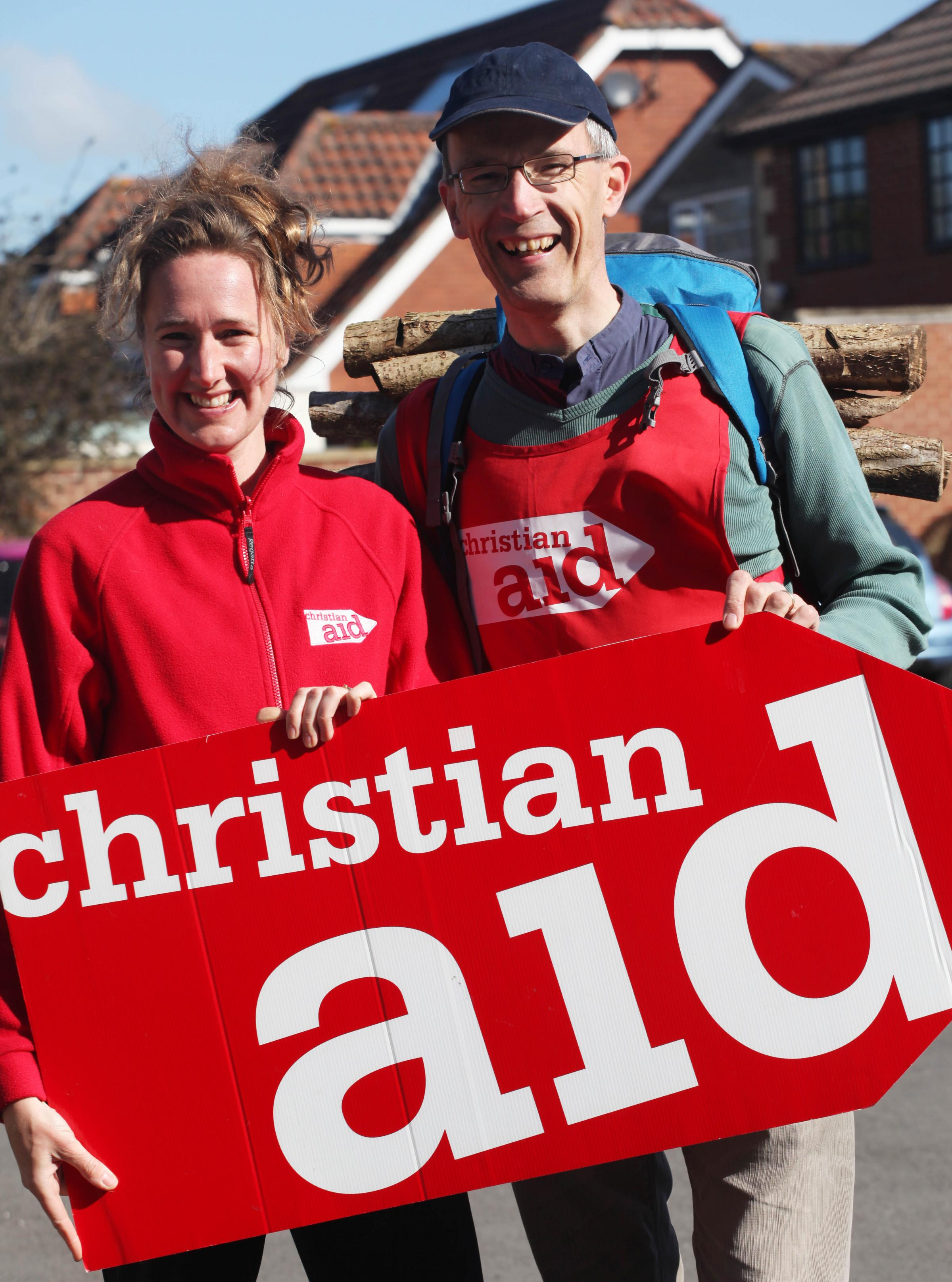Christian Aid's Katrine Musgrave (left). Picture: Vicky Scipio.