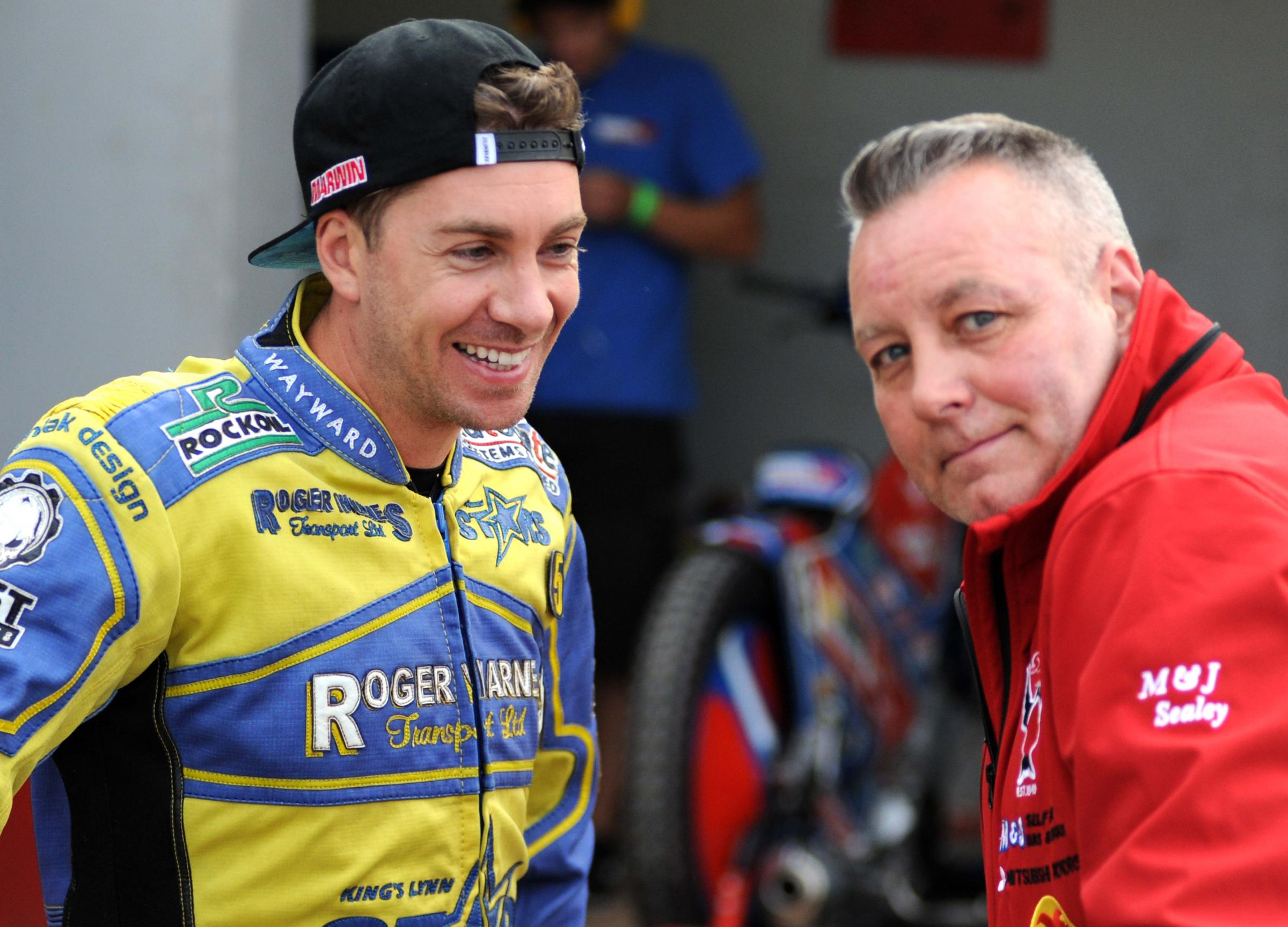 Alun Rossiter (right) and Troy Batchelor