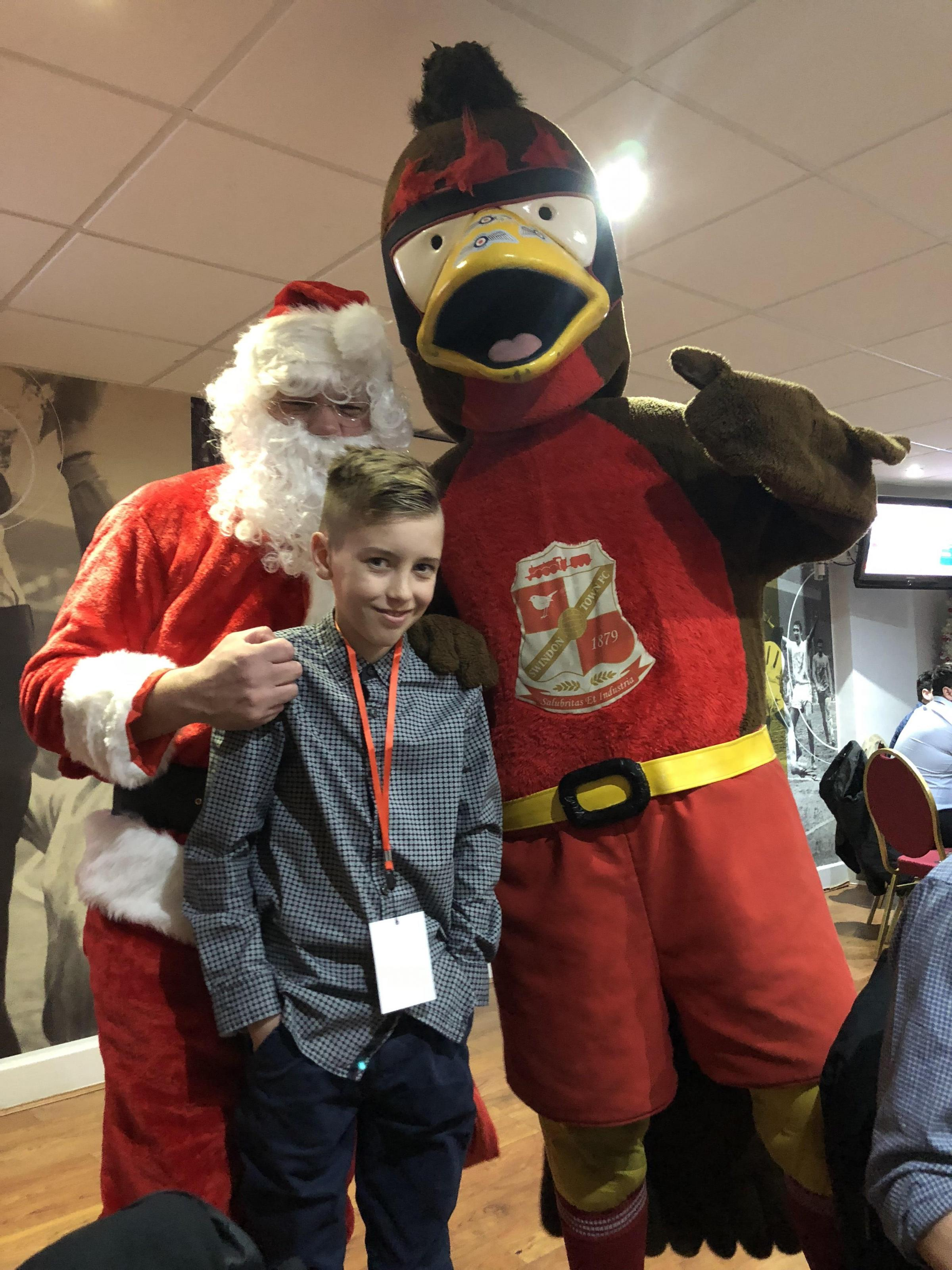 KID'S CORNER: A child's eye view of Swindon Town's League Two defeat to Colchester United on Friday
