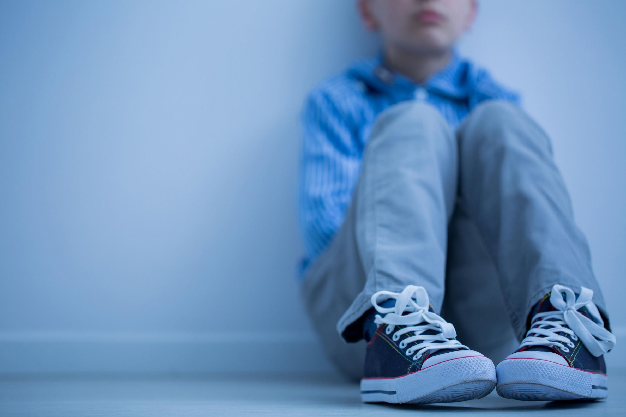 A generic photo of a little boy sitting on his own. See PA Feature FAMILY Loneliness. Picture credit should read: PA Photo/thinkstockphotos. WARNING: This picture must only be used to accompany PA Feature FAMILY Loneliness