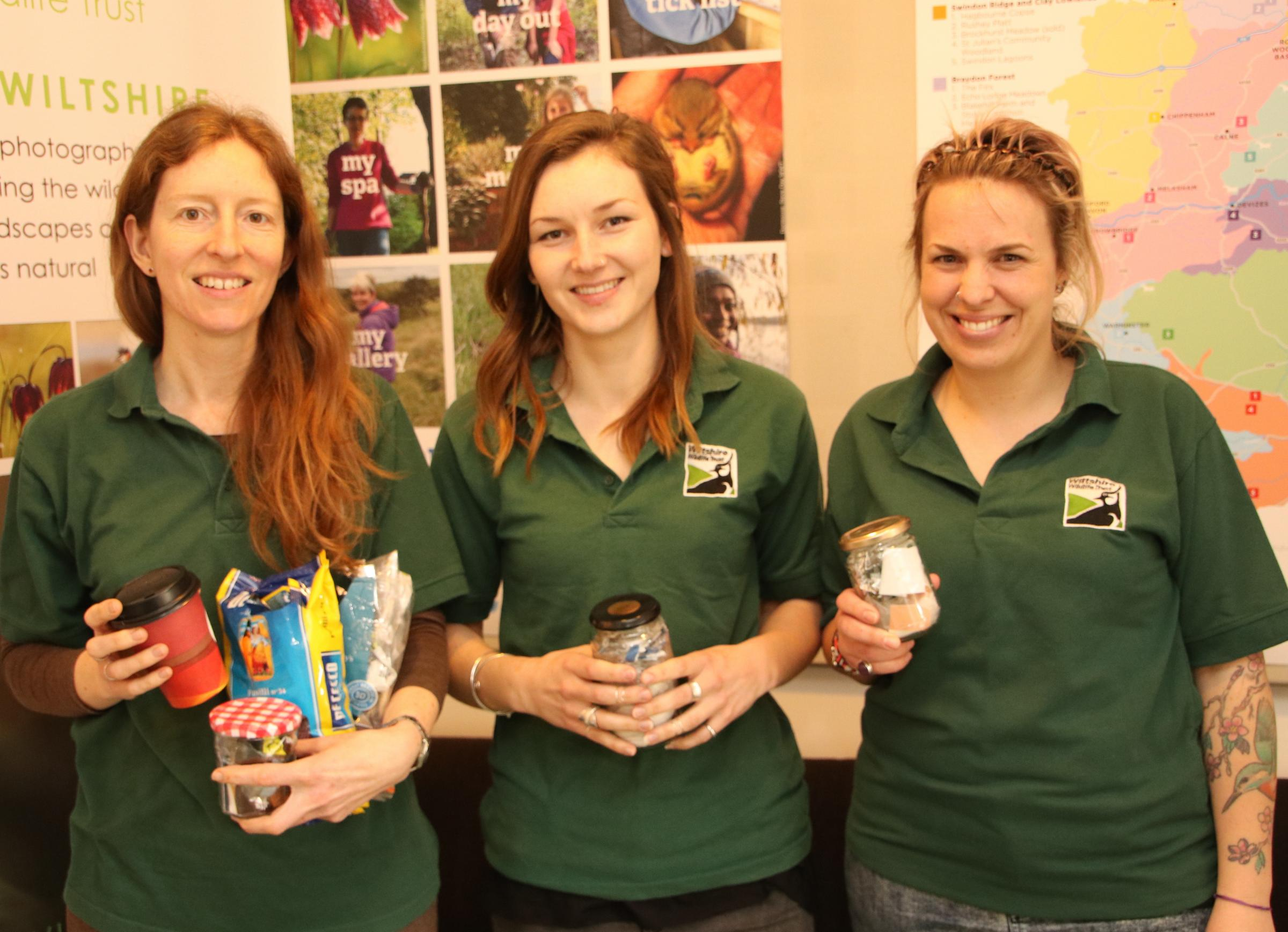 Wiltshire Wildlife Trust staff are encouraging people to join their Waste Free February initiative