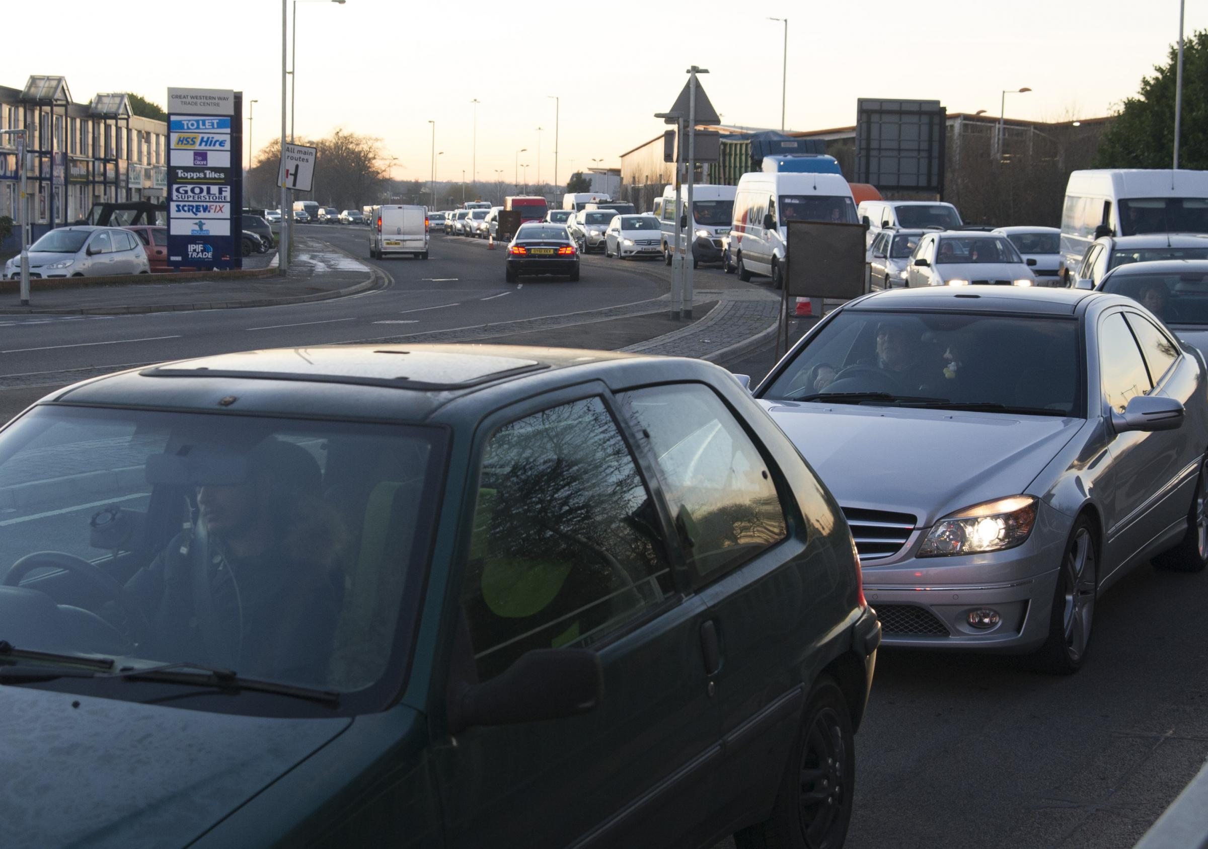 Roadworks Drivers Warned Of Great Western Way Works And Junction 16 4 Switch Screwfix Improvements Swindon Advertiser