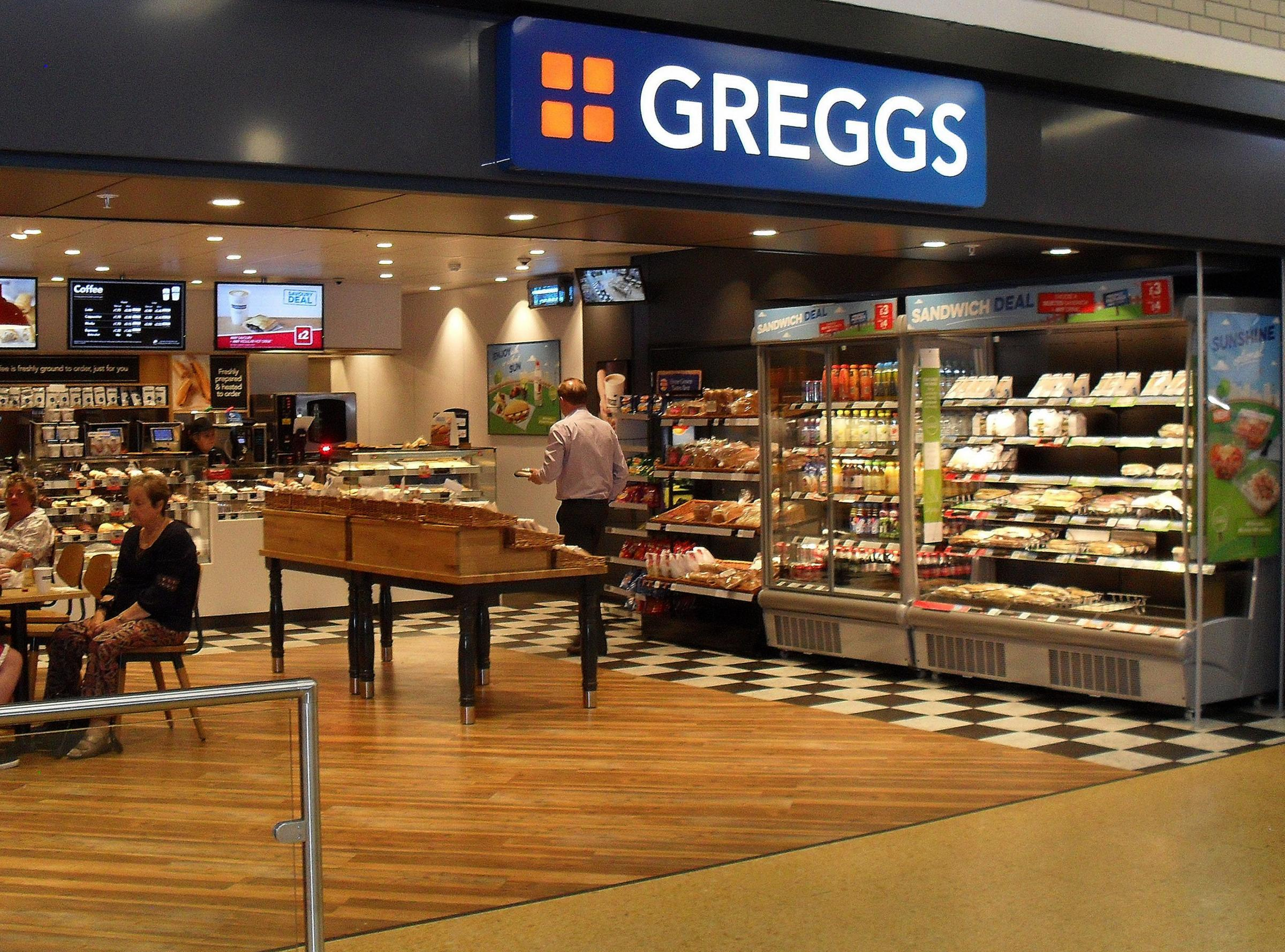 Undated handout file photo issued by Greggs of one of their stores, as the high street chain said it plans to ramp up shop openings over the year ahead after a solid performance in 2017 despite seeing sales growth slow over the Christmas season. PRESS ASS