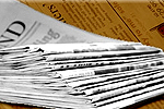 Swindon Advertiser: Newspaper Delivery Stack