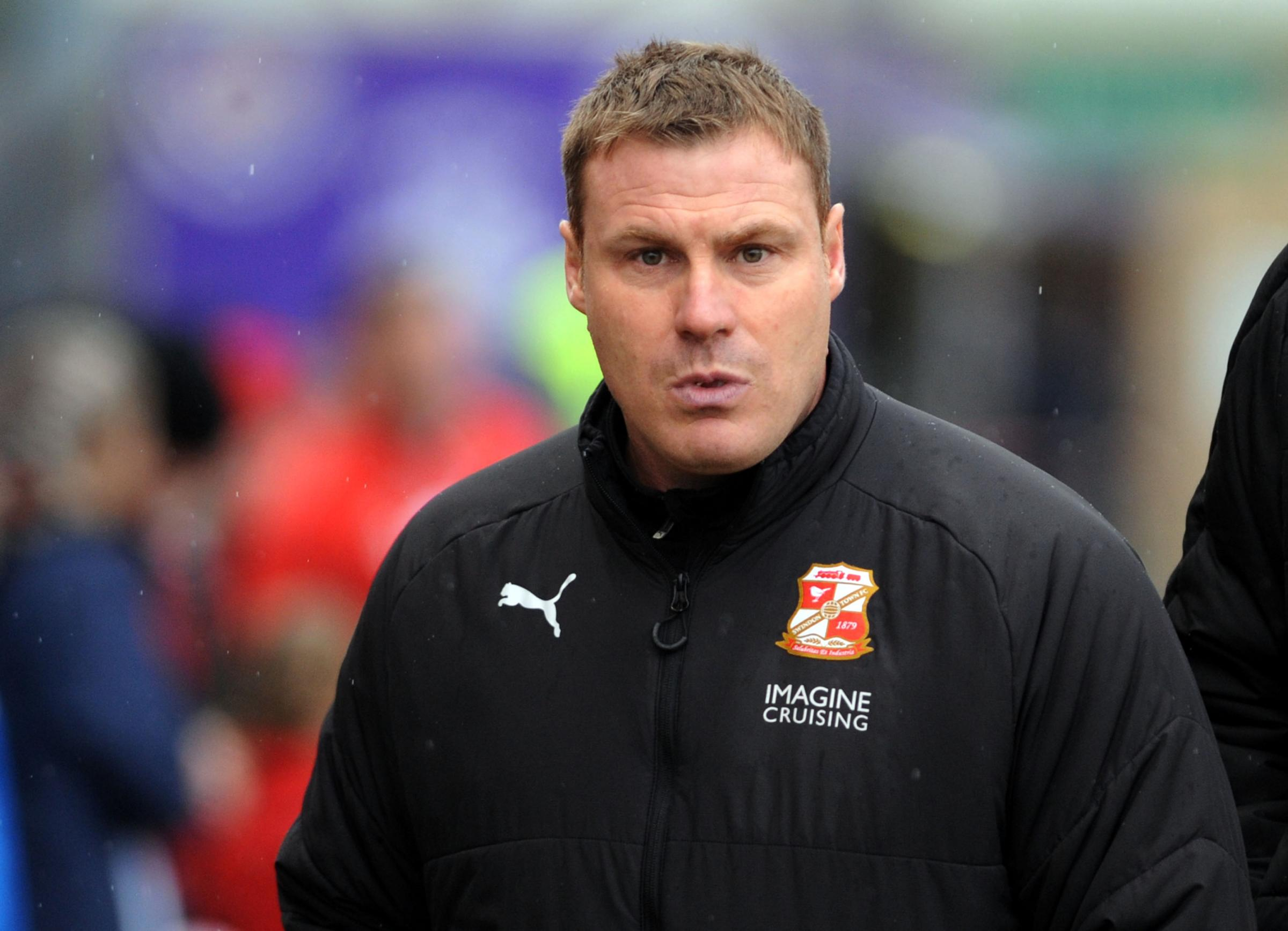Swindon Town boss David Flitcroft (Picture: DAVE EVANS)