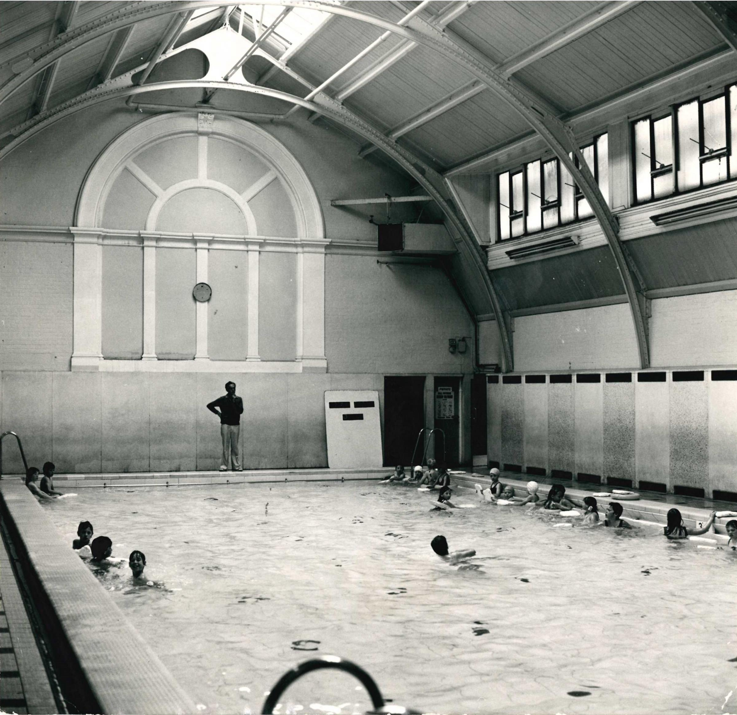 The small pool in its heyday.