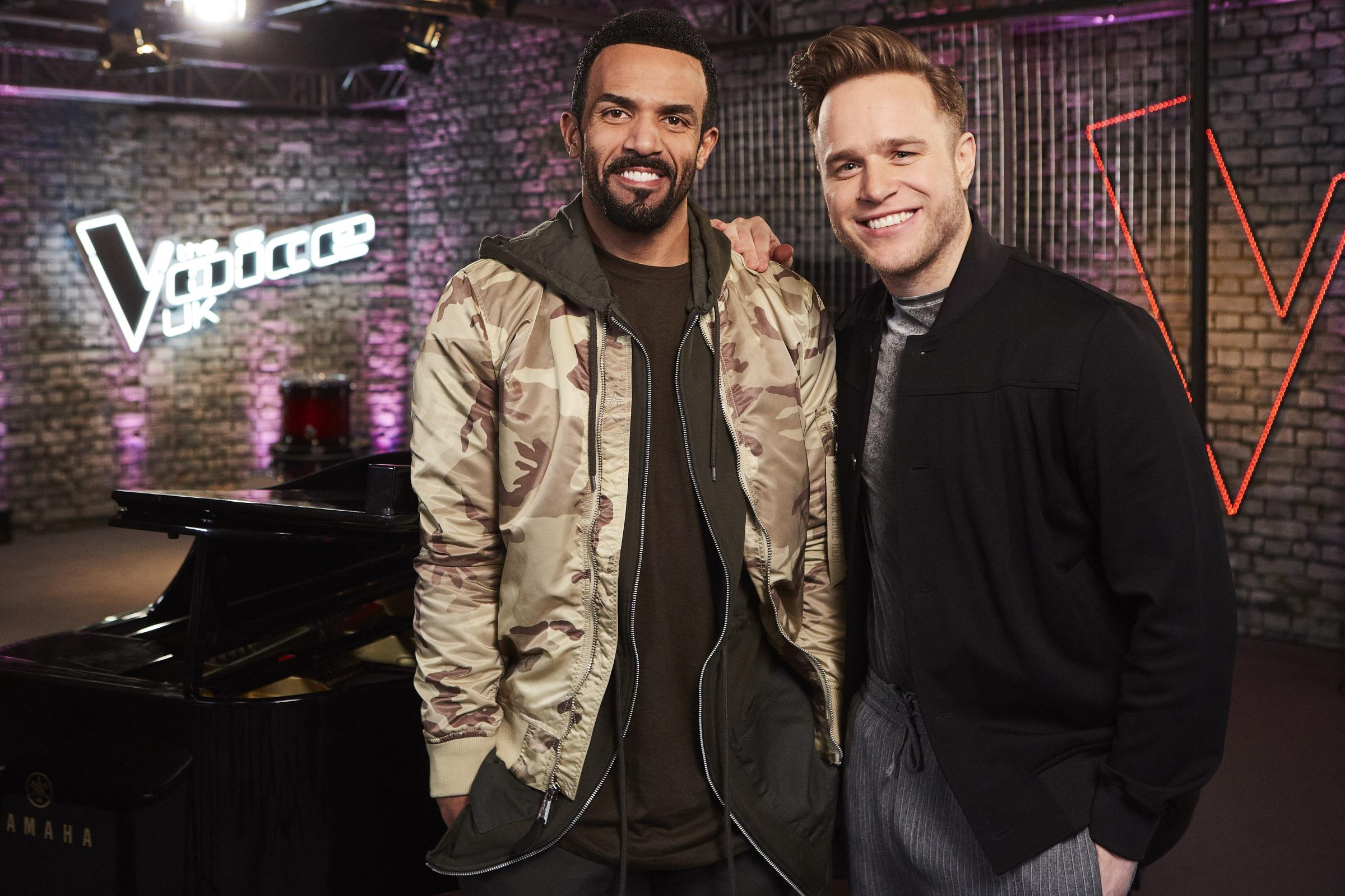 Craig David and Black Eyed Peas join The Voice UK as star mentors (ITV)