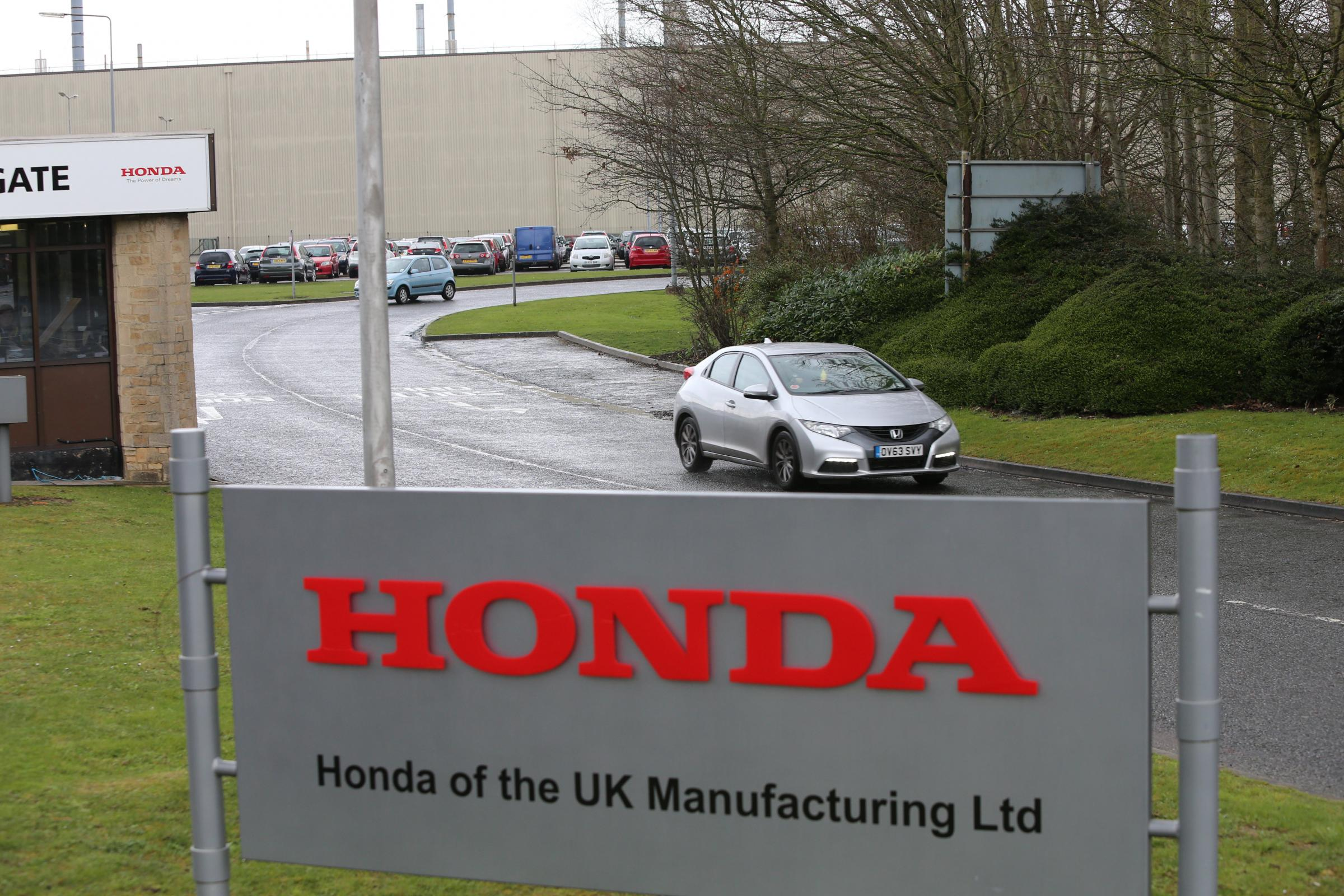 Workers at Honda's Swindon plant will be able to watch England's match tonight Stuart Harrison
