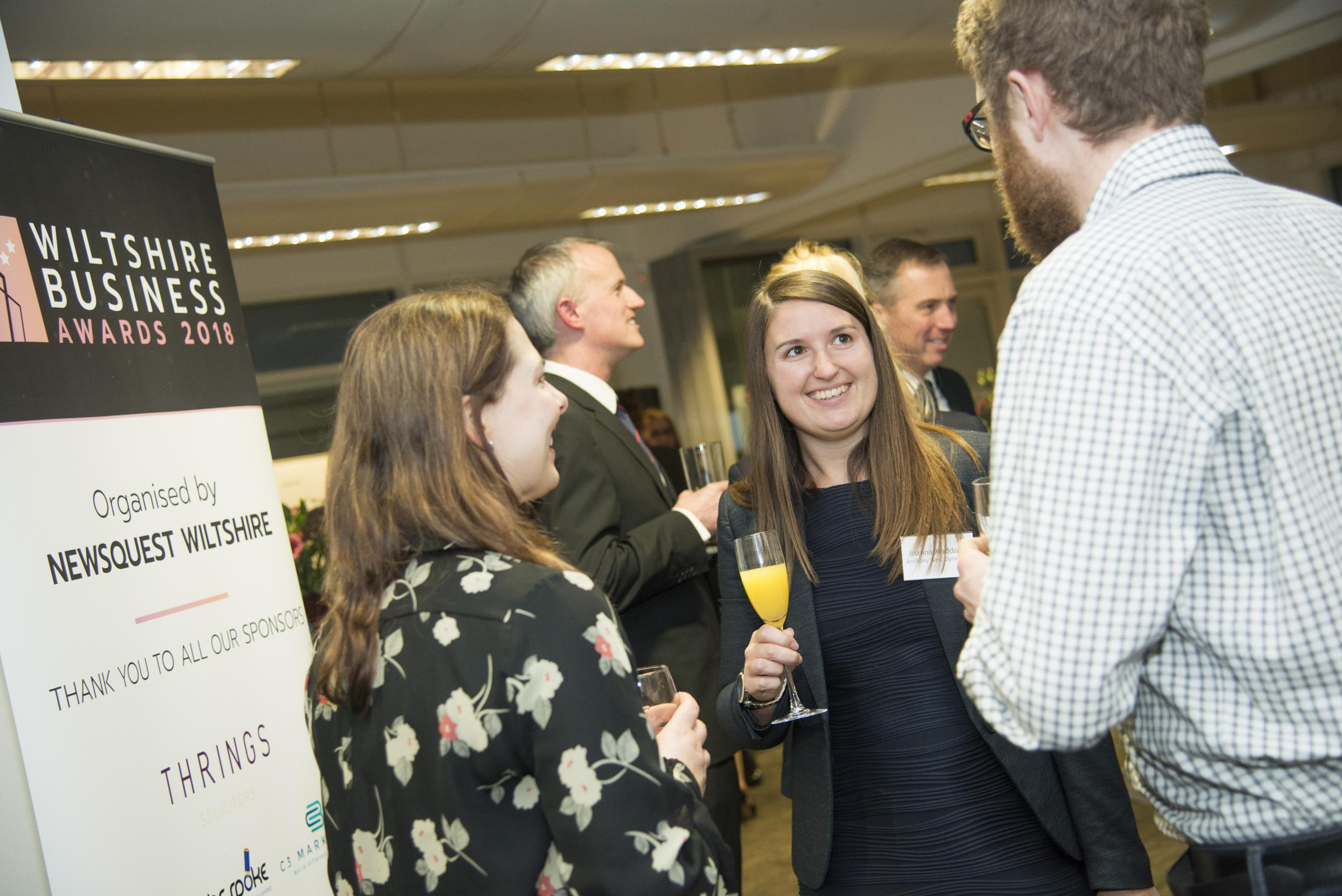 Joanna Maddam at the Wiltshire Business Awards Meet The Judges event. Picture: THOMAS KELSEY.