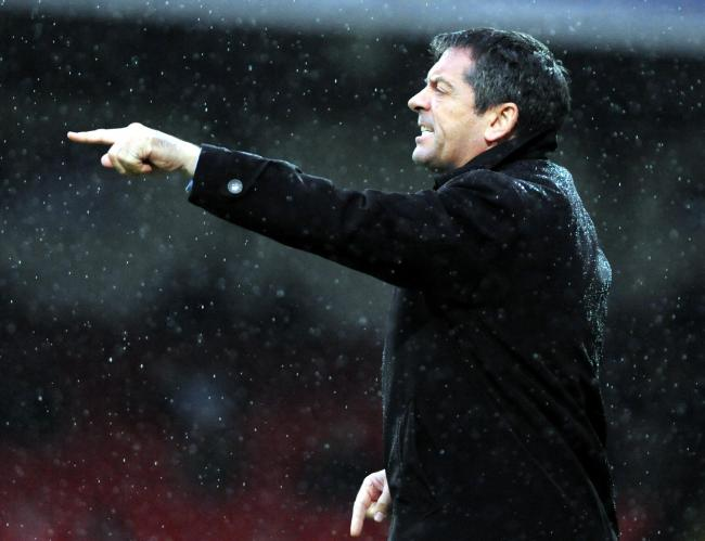 New Swindon Town boss Phil Brown