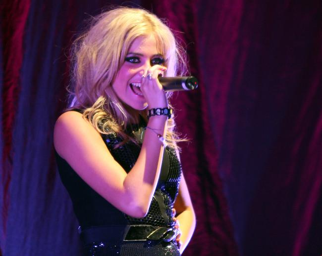 Pixie Lott is performing at Lydiard