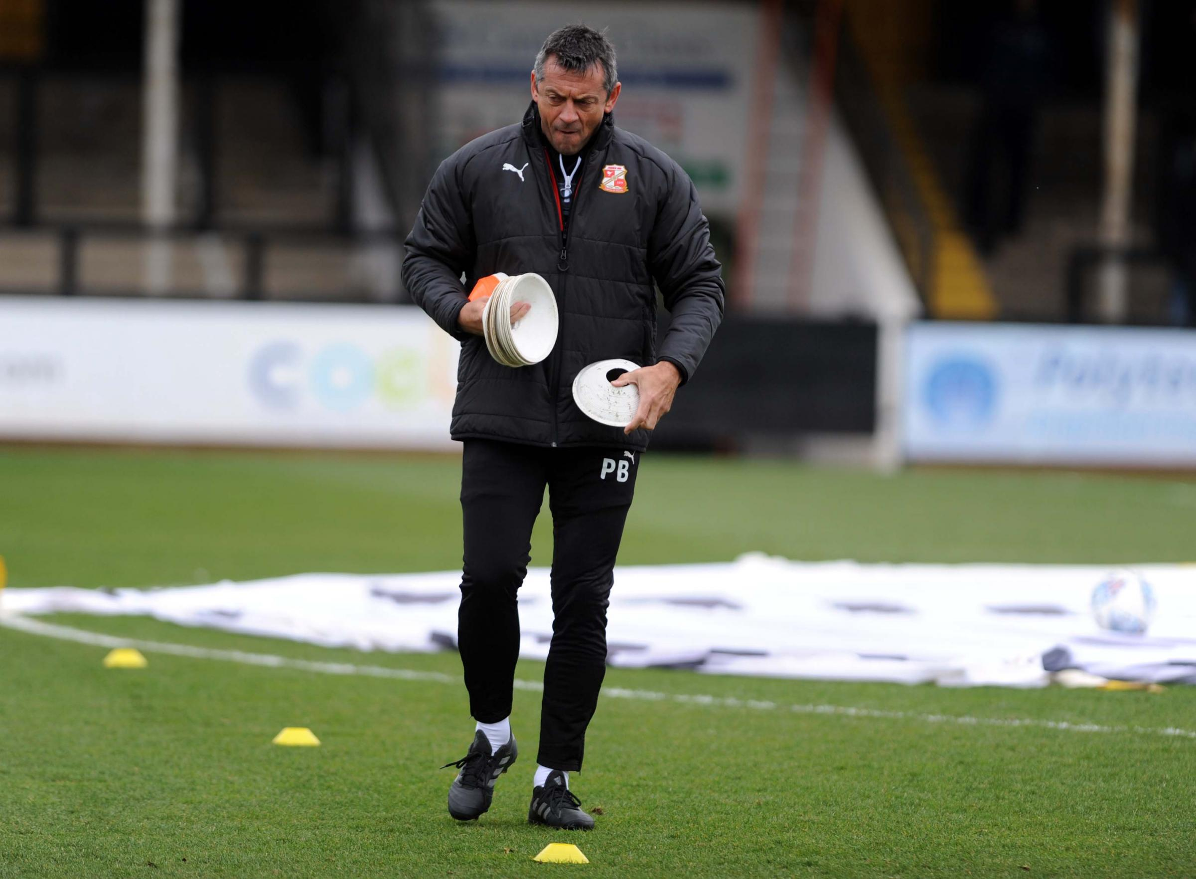 Swindon Town boss Phil Brown is ready to make key changes in the transfer window.