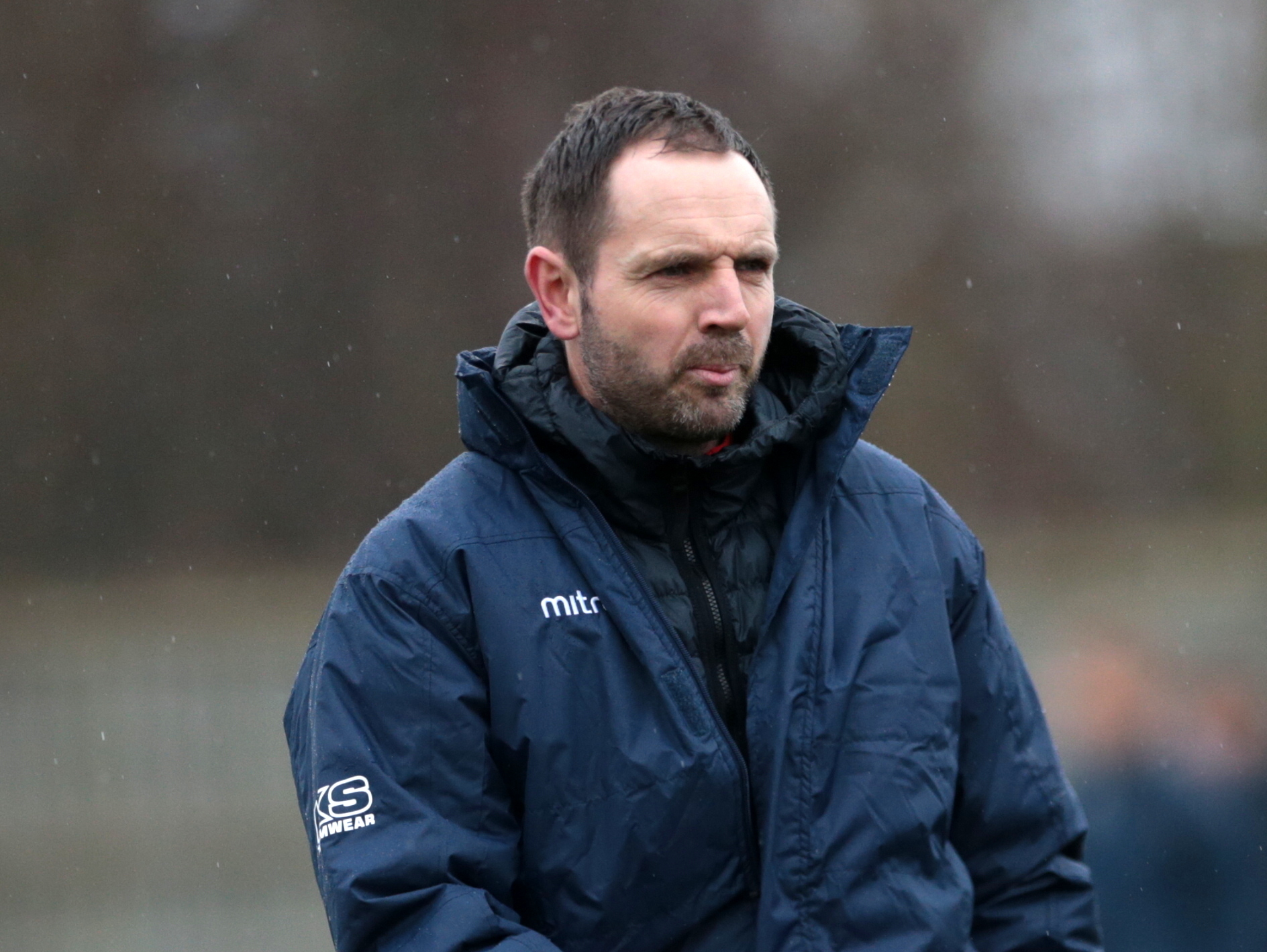 Supermarine boss Lee Spalding. Didcot Town 0 Swindon Supermarine 0. Saturday, February 3, 2018. Picture: JEFF YOUD.