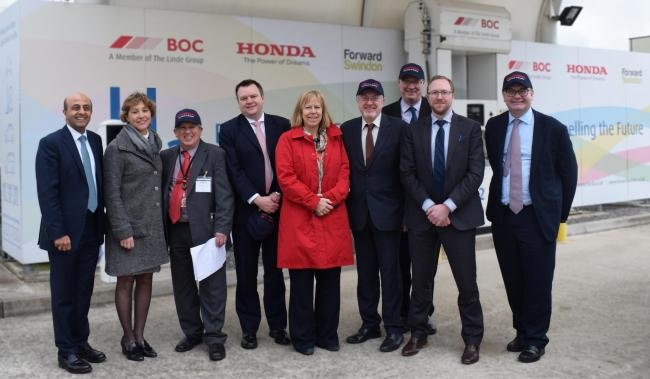 MPs visited Honda's South Marston plant on Thursday