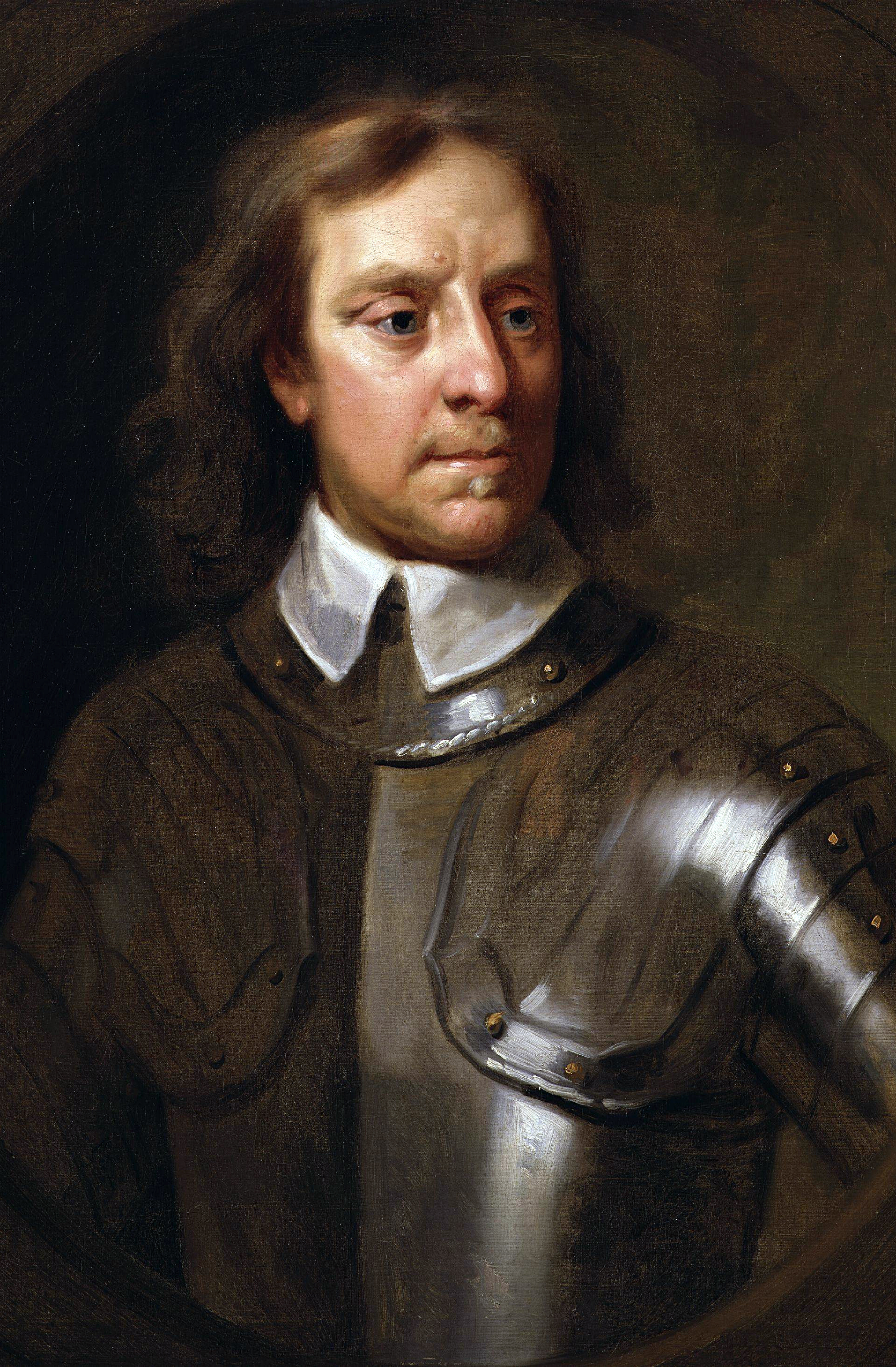 Oliver Cromwell was born on this day in 1599