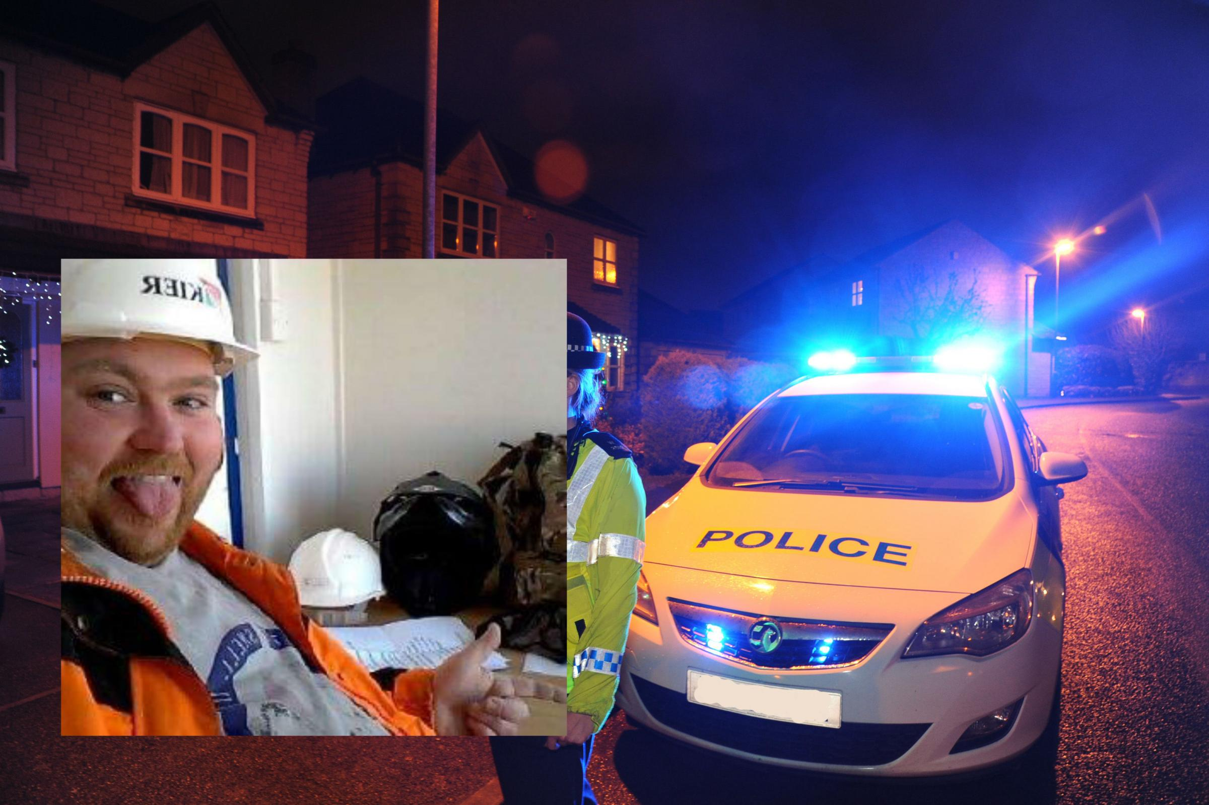 Inset: Kevin McGarvey. Picture: WILTSHIRE POLICE