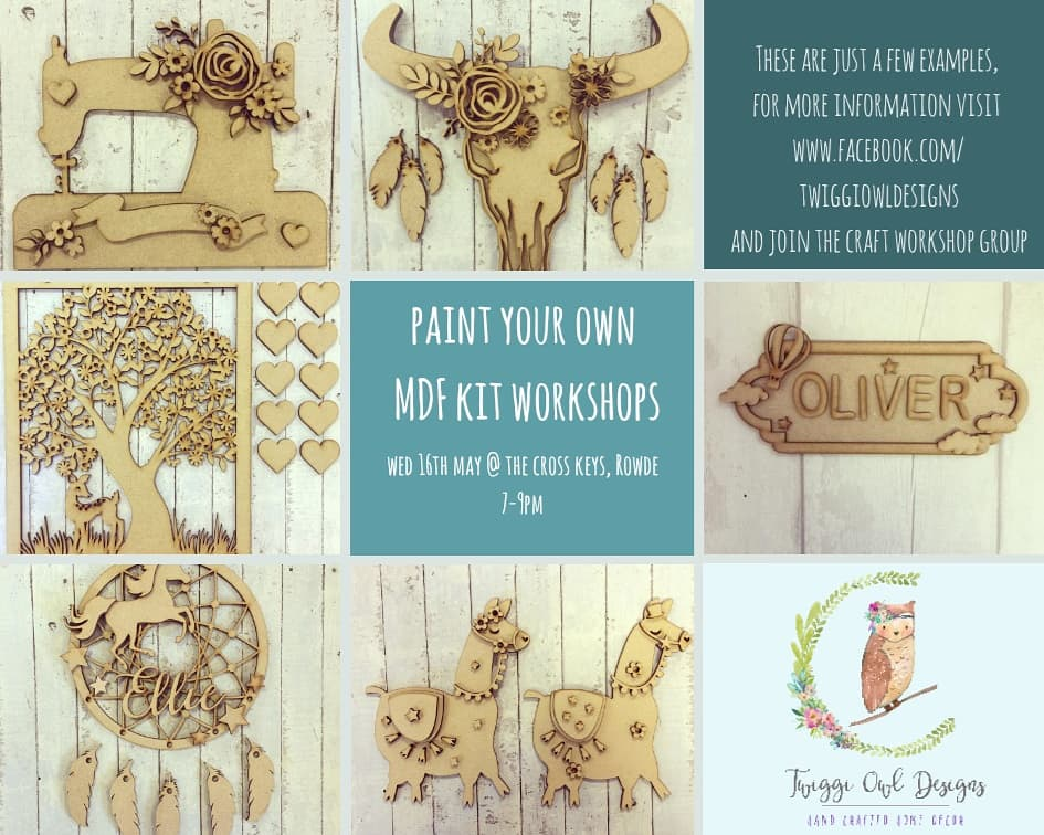 MDF Kit Decorating Workshop