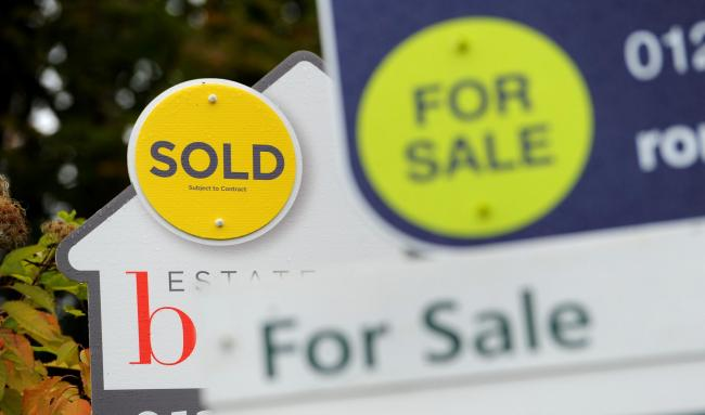 Do you think houses are getting too pricey? Picture: Andrew Matthews/PA Wire