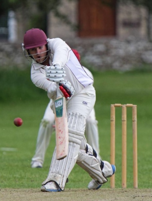 Shrivenham's Alex Bowles batting during the victory over Fringford