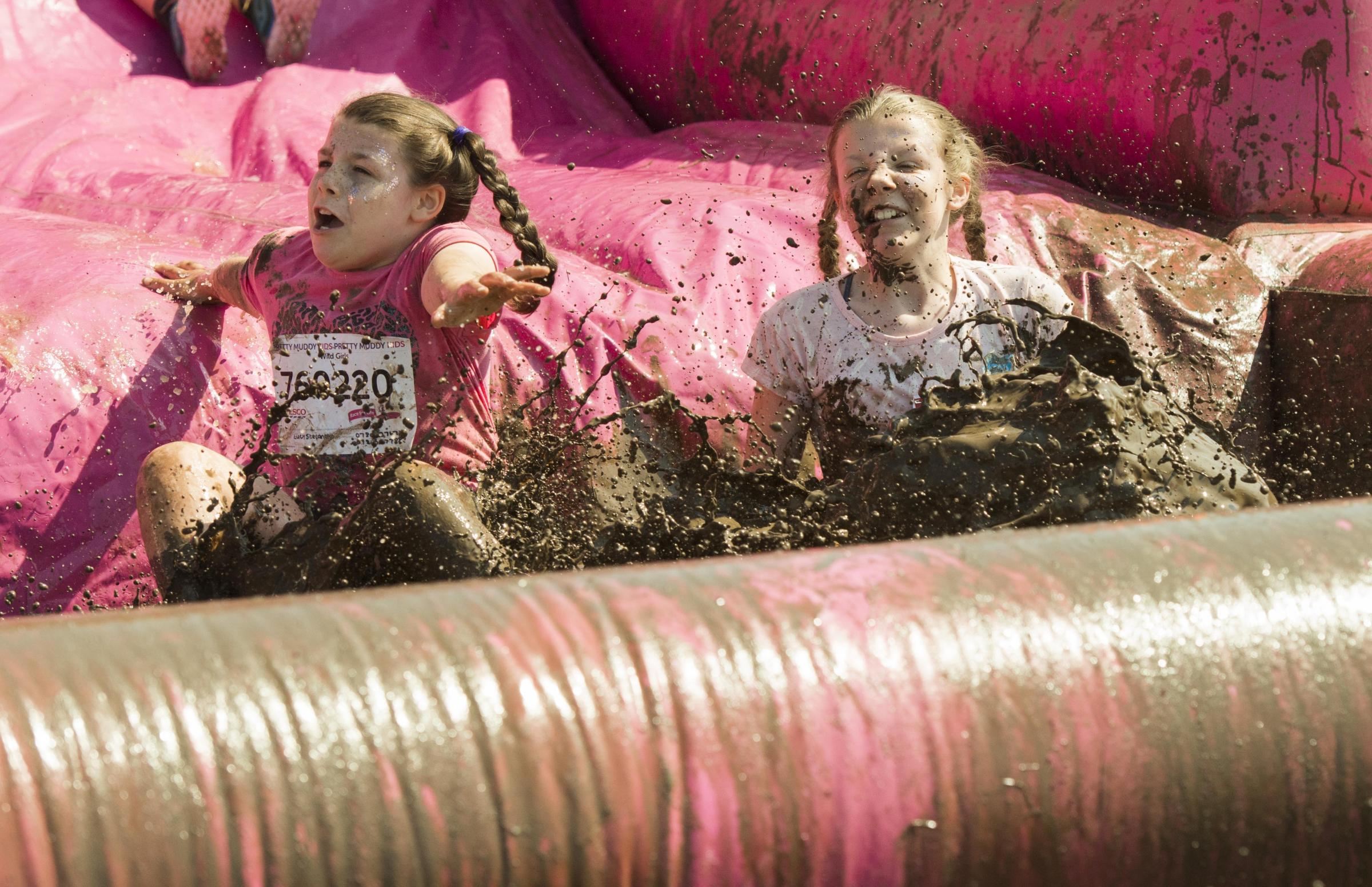 Can you spot yourself in our Pretty Muddy gallery? Picture: CLARE GREEN